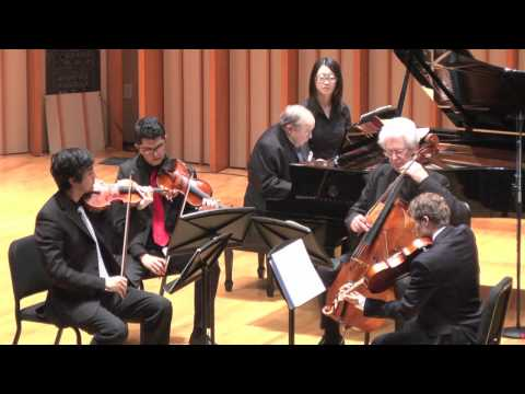 Ron Leonard with Pressler-Brahms