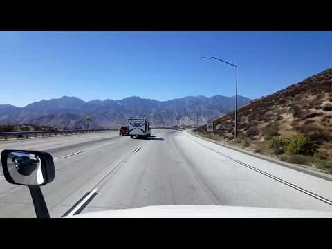 BigRigTravels LIVE! Victorville to Ontario, California Interstate 15 South-Oct. 15, 2017