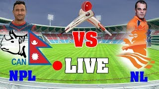 🔴 Nepal vs Netherlands Live Cricket Score, Commentary, ICC World Cup Qualifier 2018