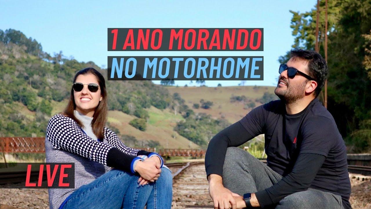 LIVE ESPECIAL - 1 ANO MORANDO NO MOTORHOME | Paz, Amor e Viagem | Van life
