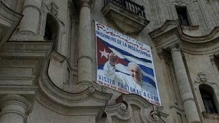 Cuban cities ready for four-day visit of Pope Francis
