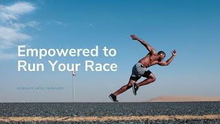 Sunday 24th January: Empowered to Race