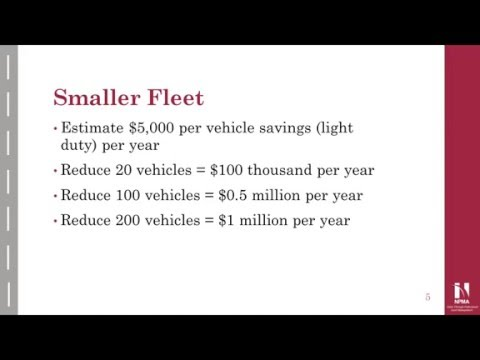 Fleet Management Webinar: How to Reduce Fleet Costs