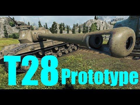 【WoT:T28 Prototype】ゆっくり実況でおくる戦車戦Part364 byアラモンド