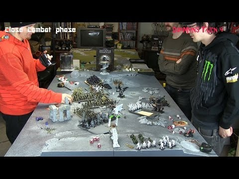 Warhammer three player Triumph and Treachery Full Game
