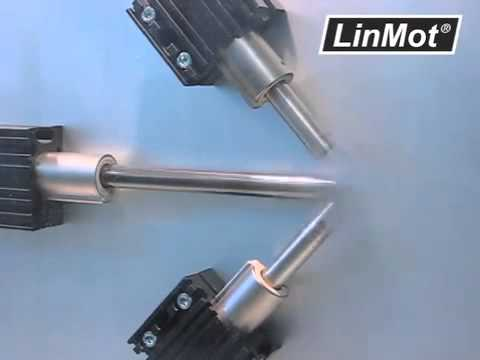 Linmot high speed linear motors linmot vietnam youtube for High speed servo motor