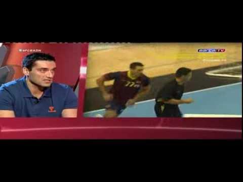 Kiril Lazarov guest at Barca TV