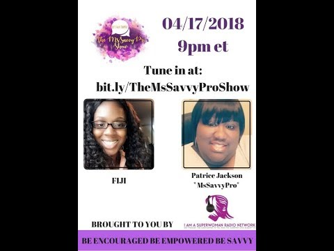 The MsSavvyPro Show With Fijabi (Fiji) Gallam (made with Spreaker)