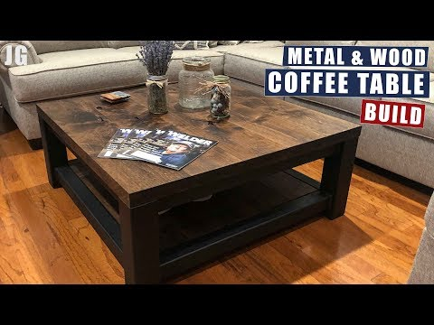 Metal & Wood Coffee Table Build | JIMBO'S GARAGE