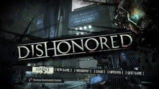 Dishonored splash screen
