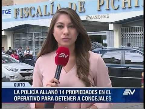 Concejales de Quito detenidos