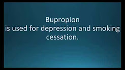 How to pronounce bupropion (Wellbutrin) (Memorizing Pharmacology Flashcard)