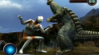 Ultraman PS2 (Story Mode Part 5) Ultraman vs Red King