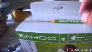 Unboxing Aliexpress Kit Reparo + bolsa de selim Bike