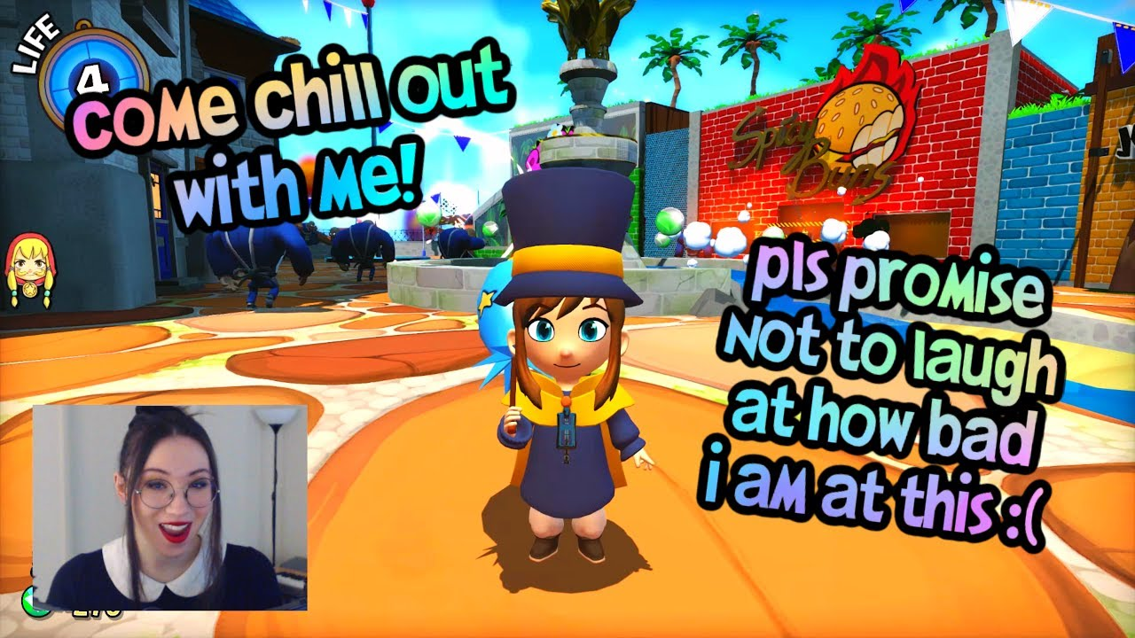 ASMR | Let's play A Hat in Time! 🎩 Relax & hang out with me | Binaural Soft spoken
