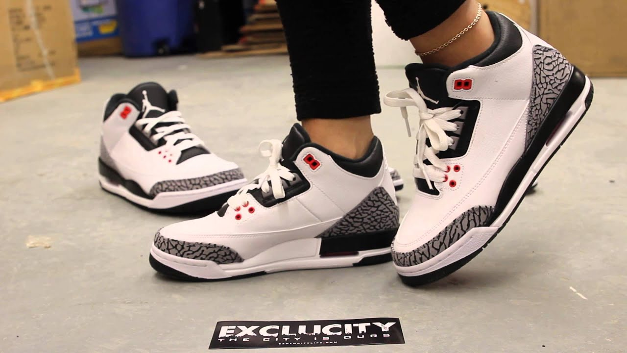 Woman's GS Air Jordan 3 Retro