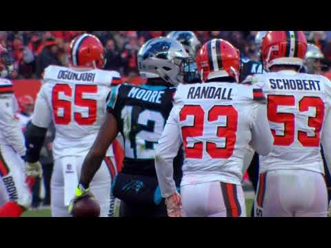 DJ Moore mic'd up during game vs the Browns