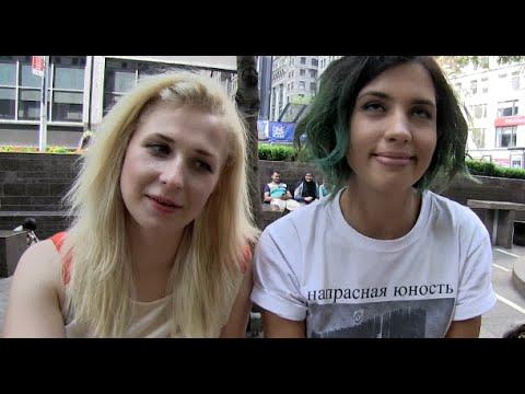 "RARE #PUSSYRIOT ""Putin Stole Crimea"", Political Prisoners, Ukraine and #Occupy Zuccotti Park 8/12/14"