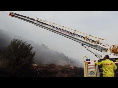 Hazelwood Coal Mine Fire 2014