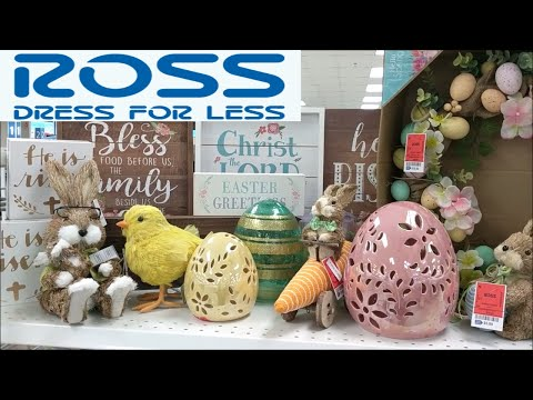 ROSS Easter & Spring Decor Shop with Me!