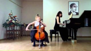 Настя. виолончель