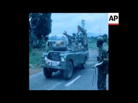 SYND 6 5 79 TANZANIAN TROOPS FIGHTING TOWARDS SOROTI IN UGANDA