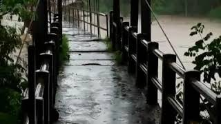Detik-detik Jembatan Hanyut Di Bantul Sungai Opak| DIY Terguyur Hujan Lebih Dari 12 Jam