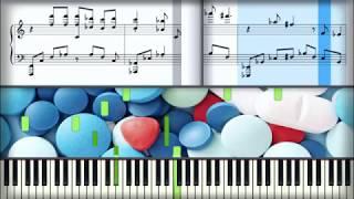 Элджей - Антидепрессанты | Урок на пианино | Караоке