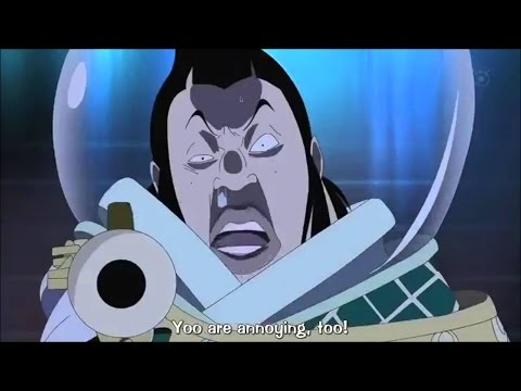 Luffy Punches a Celestial Dragon [English Subbed] - One Piece