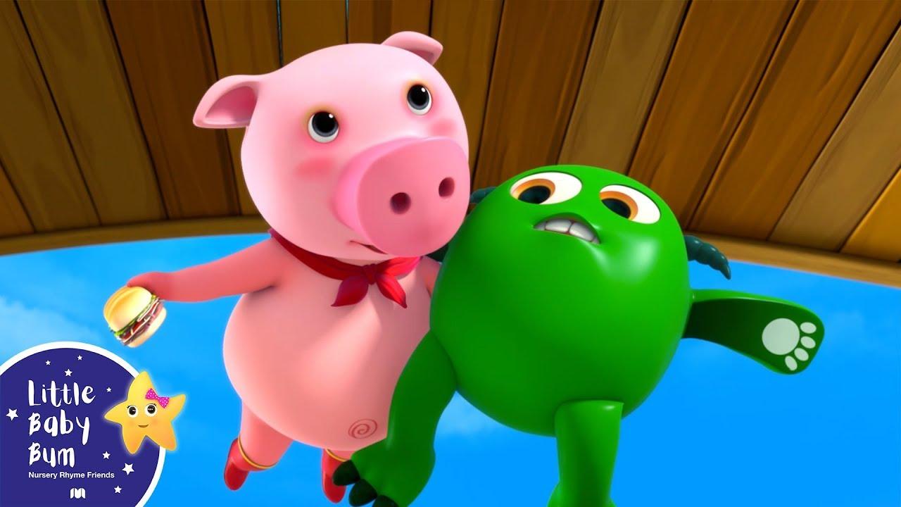 Super Pig - Little Baby Bum | Baby Songs | Nursery Rhymes ...