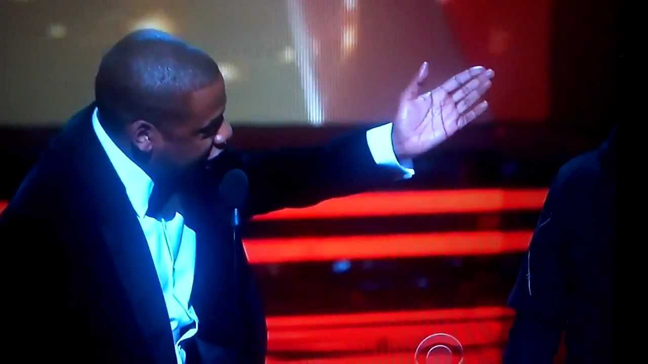 1ea9dcf1b42 Jay-Z Disses The Dream Hat at The Grammy Awards - YouTube