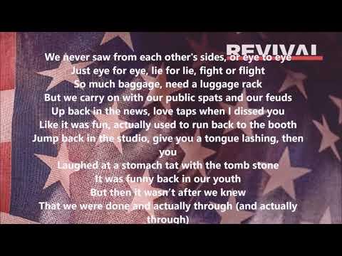 Eminem- Bad Husband ft. X Ambassadors Lyrics