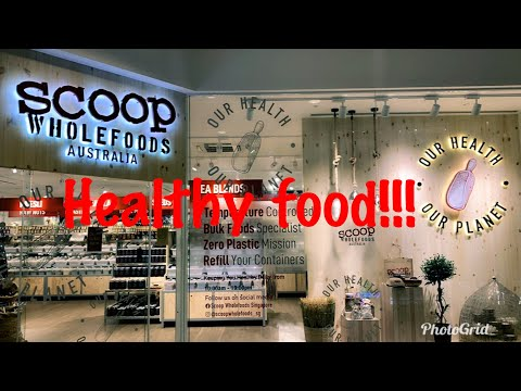 #organic #healthy SCOOP WHOLEFOODS- Australia in Singapore / Where to Buy