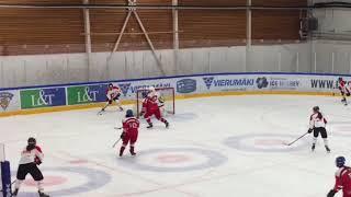 Evropský pohár žen U16: Semifinále Česko – Švýcarsko 5:1