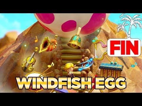 The Wind Fish's Egg & Secret Ending In Link's Awakening Switch 100% Walkthrough 18