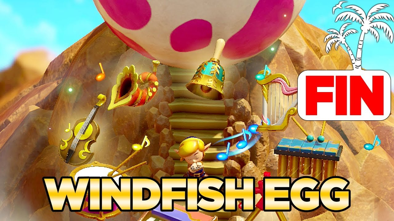 The Wind Fish S Egg Secret Ending In Link S Awakening Switch 100 Walkthrough 18