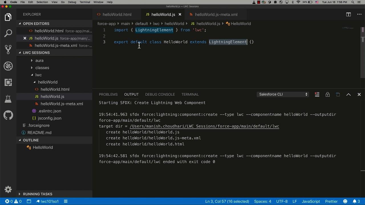 LWC Component Bundle | LWC Development Course Preview
