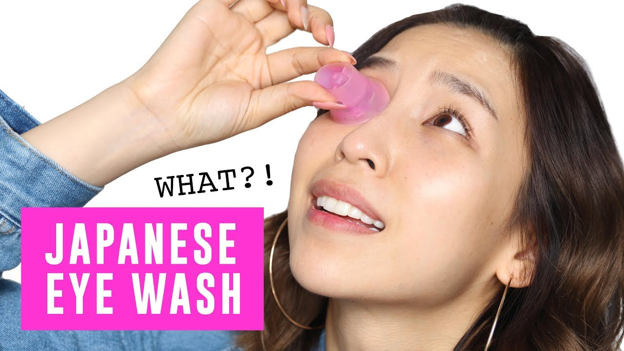 WASHING MY EYEBALLS… OMG 🙈 TINA TRIES IT