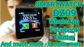 b5f9365a7c9 Relógio Smartwatch Bluetooth Dz09 Entrada p  Chip Iphone Android ...