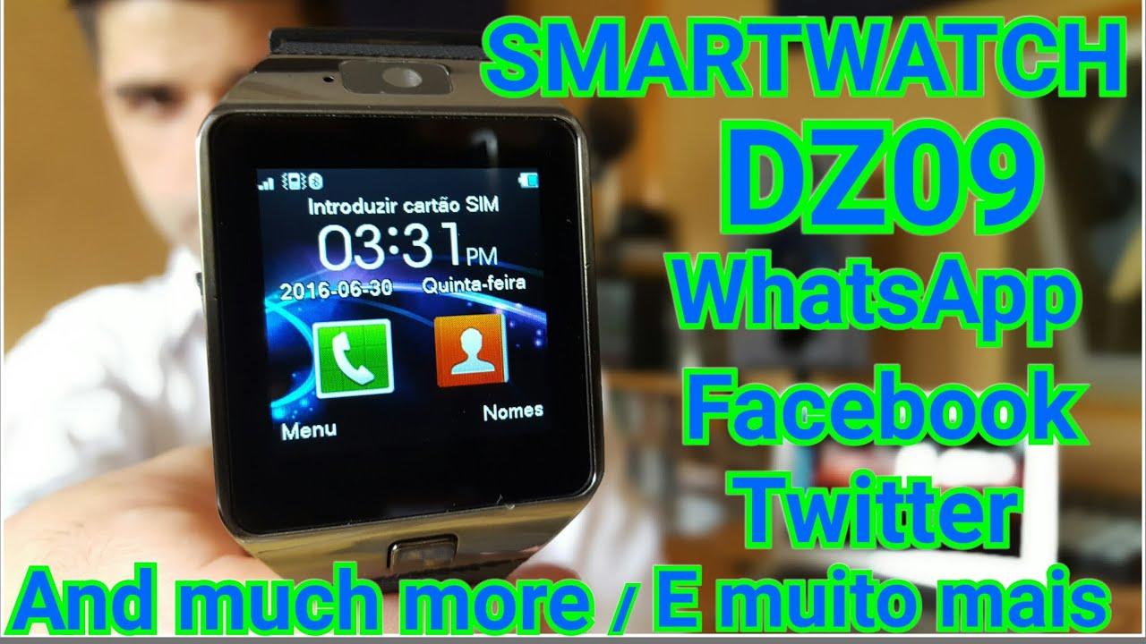 Smartwatch Dz09 Rel 243 Gio Inteligente Bluetooth Whatsapp