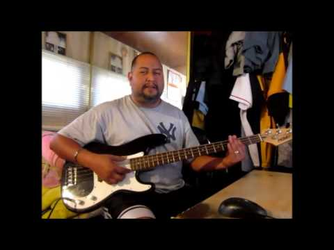 practicando el bass bajo electrico basico principiantes con bigshow71 popurri de polkas