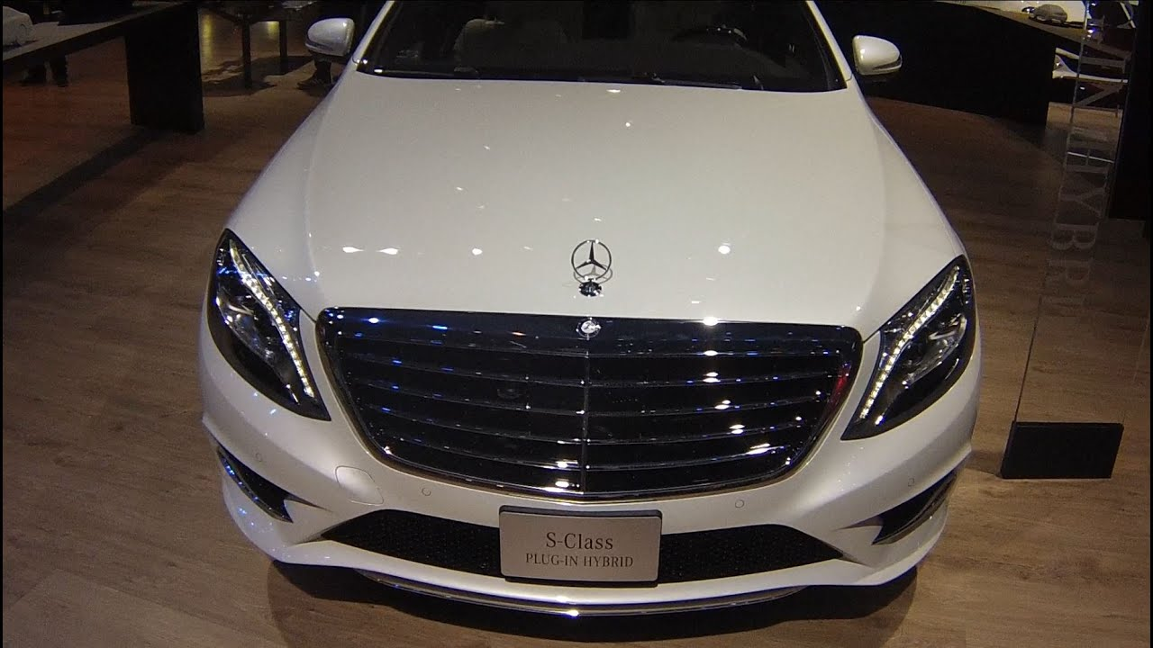 2015 mercedes benz s550 plug in hybrid at the 2015 naias detroit auto show