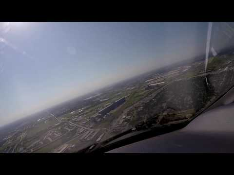 Traffic Collision Alert on final approach to Fort Worth Meacham