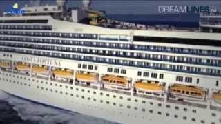 Costa Fortuna - вся информация, экскурсия по кораблю (HD)