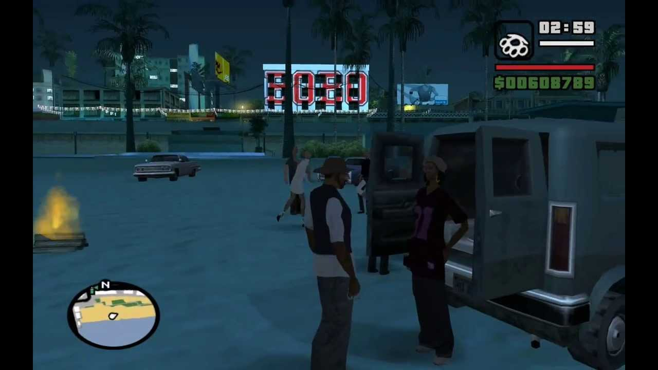 cbb2bff05a9 GTA San Andreas - Life s a Beach (OG LOC Mission  1) - from the Starter  Save - Method  1 Dance - YouTube
