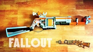 replica nerf fallout laser musket rifle   nerf doomlands lawbringer mod by terin