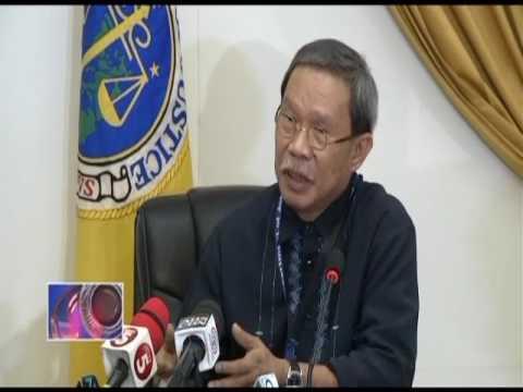 Bagong Prosecutor General Victor Sepulveda, nagsimula na sa trabaho