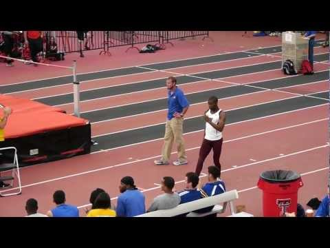 Lone Star Conference Indoor Championship WTAMU Mens Field Events