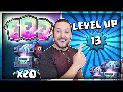 OPENING 20x LEGENDARY KINGS CHEST!! MAX...