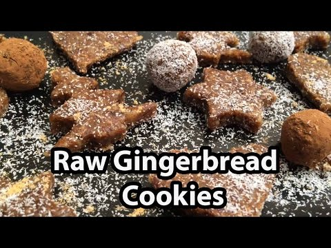Vegan Gingerbread Cookies Recipe – Raw Food & Gluten Free